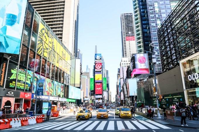 Times Square rano