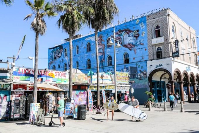 Venice Beach murale