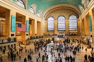W środku Dworca Grand Central