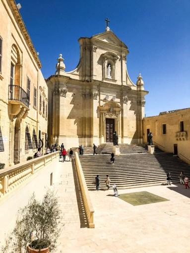 Kościół w Cytadeli Gozo