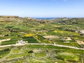 Panorama Gozo z Cytadeli Gozo 2