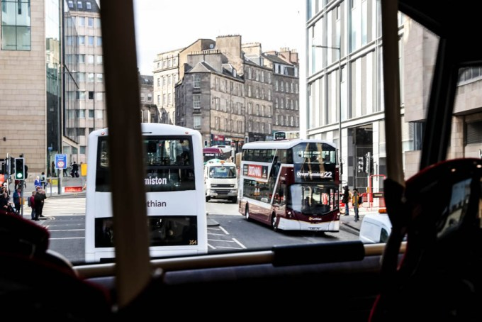 Autobusy piętrowe Edynburg