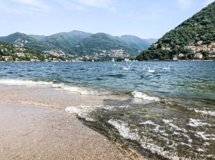 Como widok na jezioro