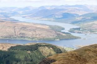 Loch EIl - widok ze szlaku