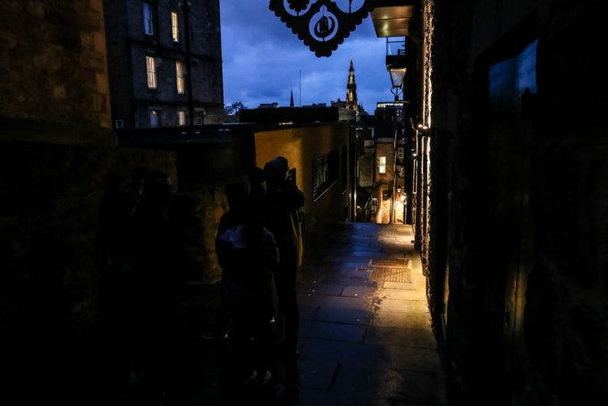 Nocne zwiedzanie Edynburg z przewodnikiem