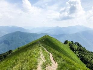 Widoki podczas biegu Scenic Trail Szwajcaria