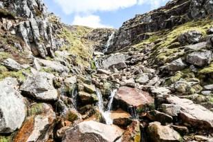 Wodospad na szlaku Ben Nevis