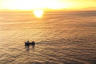 Zachód słońca przy Neist Point