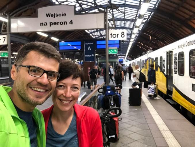 Pociąg z Wrocławia do Drezna