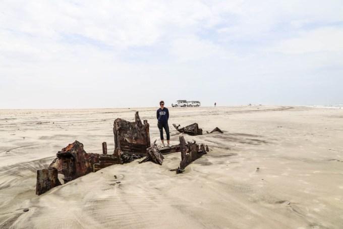 Kolejny wrak Wybrzeże szkieletów