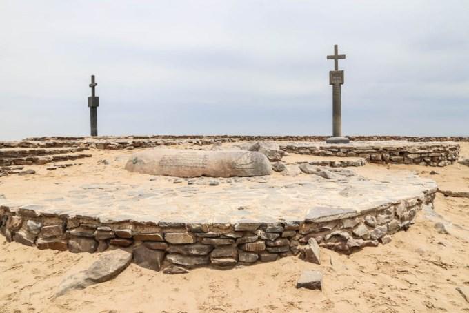 Krzyż Diago w Cape Cross