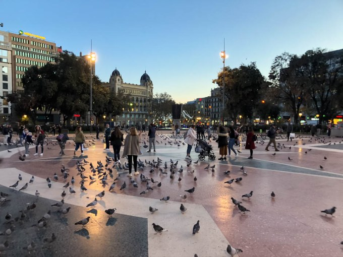 Plac Kataloński Barcelona