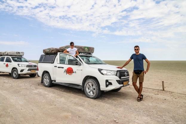 Safari w PN Etosha Pan