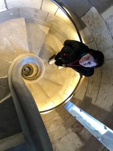 Sagrada Familia Barcelona schody