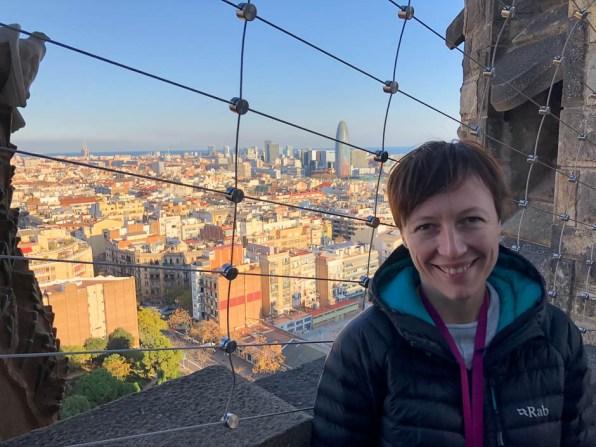 Sagrada Familia Barcelona widok z wieży