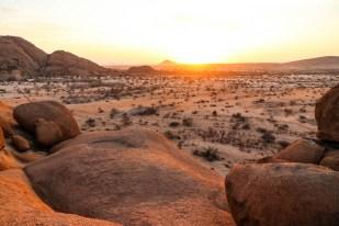 Spitzkoppe wschód słońca 2