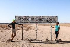 Tropic od Capricorn Namibia
