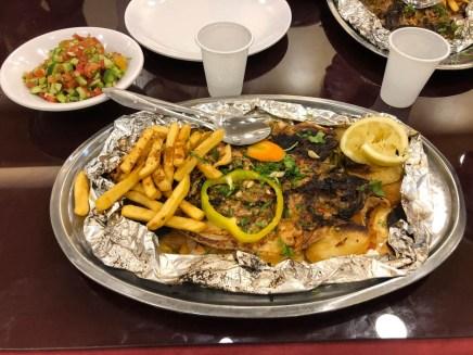Akaba rybka na kolację