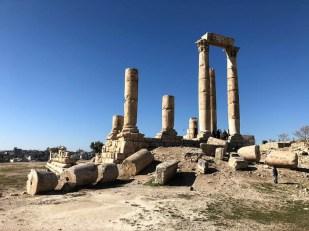 Amman świątynia Zeusa