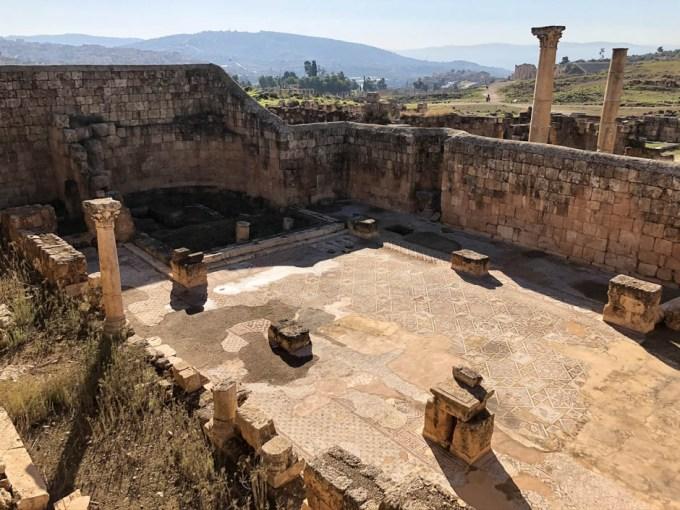 Jerash kościół bizantyjski