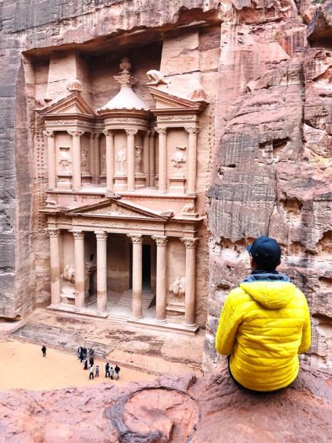 Petra niższy punkt widokowy