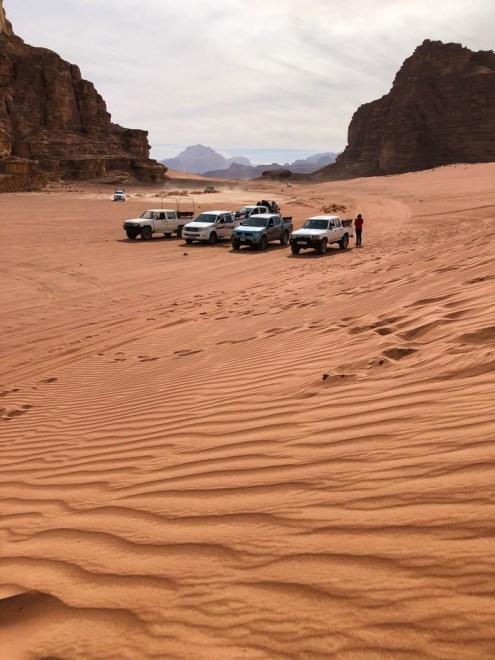 Wycieczka jeepami Wadi Rum wydma