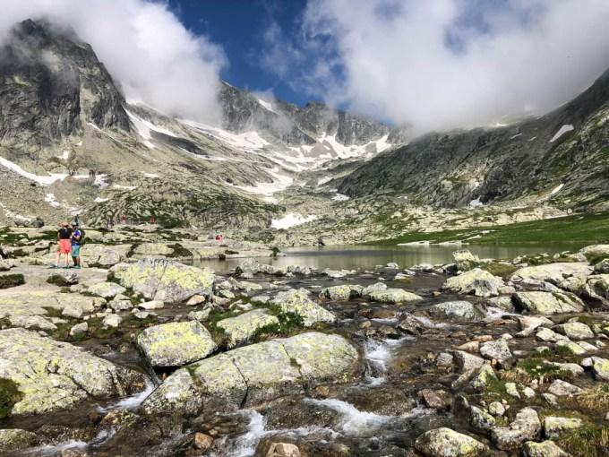 Dolina Pięciu Stawów Spiskich przy Téryho chata