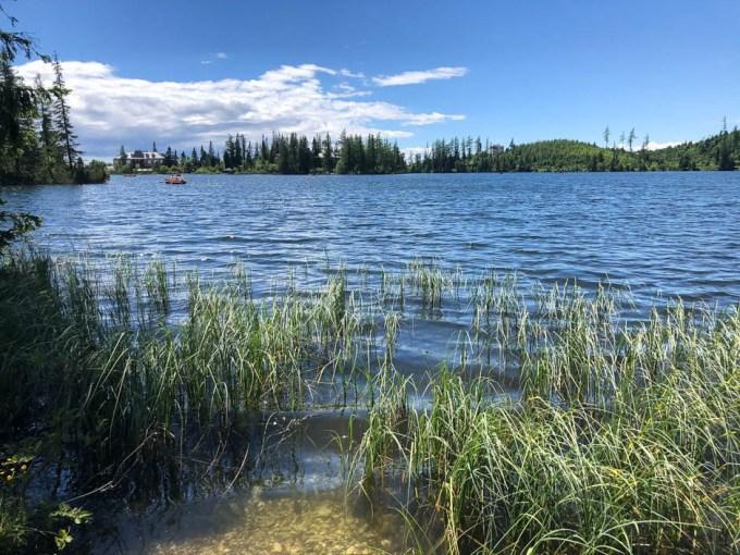 Szczyrbskie Jezioro szlak wokół