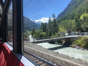 Zermatt pociąg