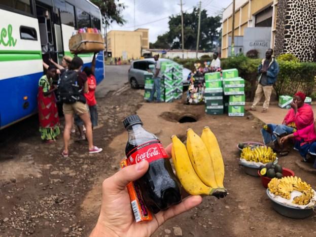 Tanzania autobus do Dar es Salaam