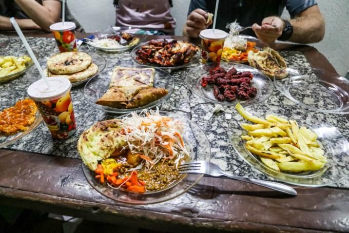 Tanzania kolacja Arusha