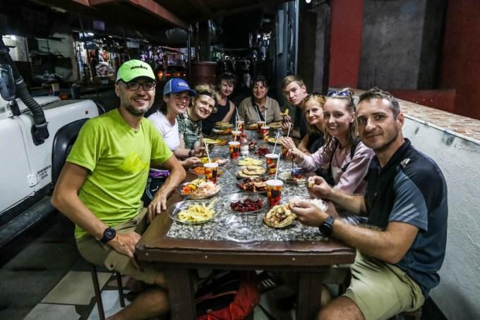 Tanzania kolacja Arusza