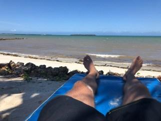 Tanzania Mbezi Beach przyplyw