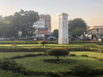Tanzania Moshi clock tower