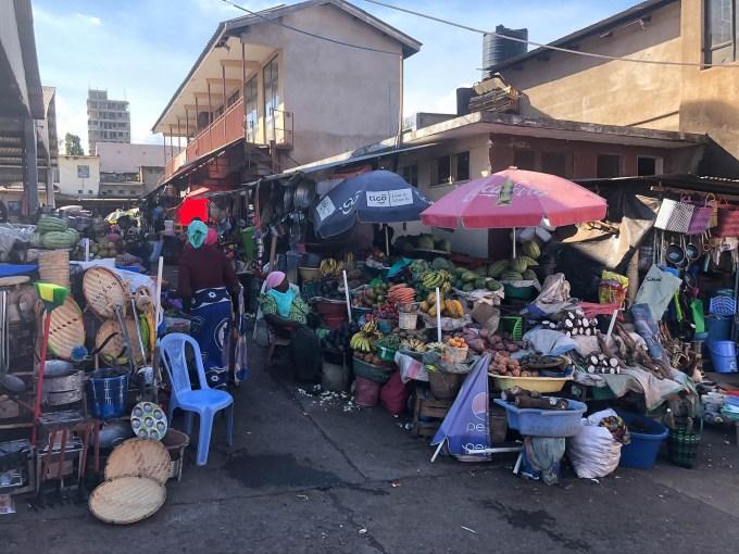 Tanzania Moshi targ