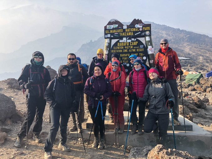 Tanzania trekking Kilimananjaro barafu