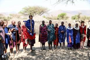 Tanzania wioska Masajow wyskoki