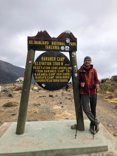 Trasa Machame baranco camp