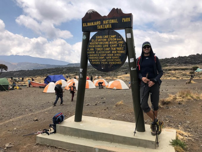 Trekking Kili shira camp