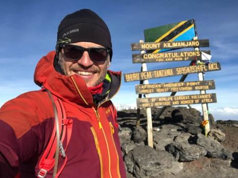 Trekking Kilimandzaro szczyt uhuru peak