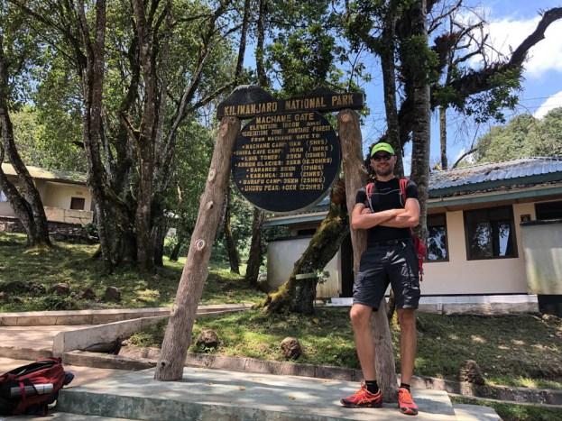 Trekking Kilimandzaro tablica