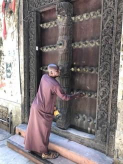 Zanzibar drzwi