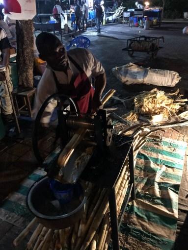 Zanzibar napoj z trzciny cukrowej