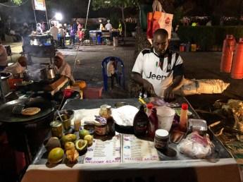 Zanzibar nocny targ z jedzeniem 2