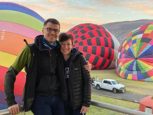 Balony Teotihuacan 2