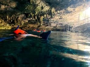 Tulum Cenote Dos Ojos snorkeling 3