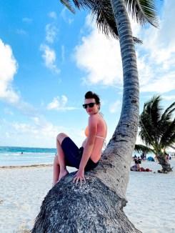 Tulum plaża Paraiso sesja zdjęciowa
