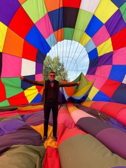 W balonie Teotihuacan