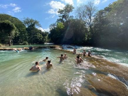 Wodospady Agua Azul 5