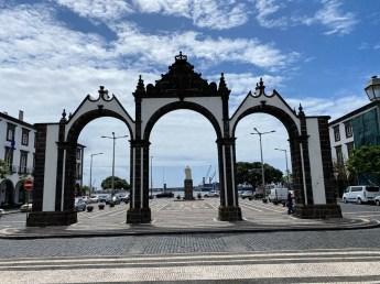 Ponta Delgada brama miasta